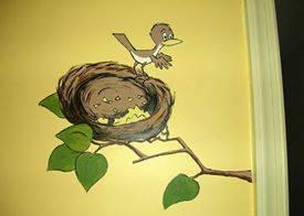Baby Bird Mural