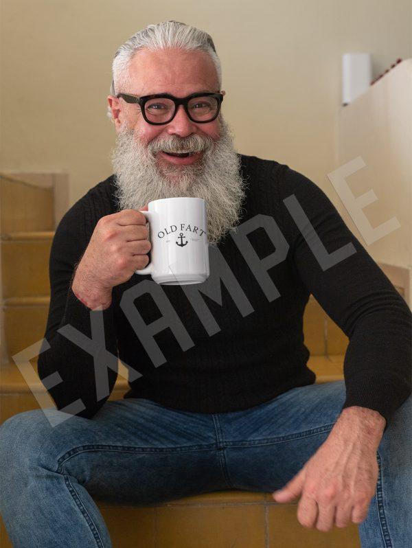 Old Fart Mug Example